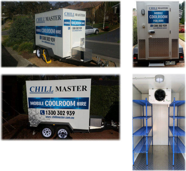 We hire out mobile coolrooms!